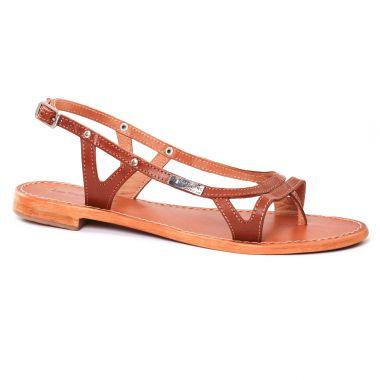 Nu Pieds Et Sandales Les Tropeziennes Isatis Tan, vue principale de la chaussure femme