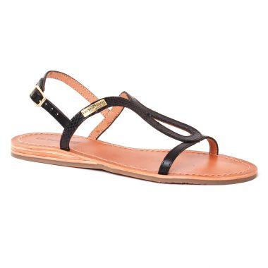 Nu Pieds Et Sandales Les Tropeziennes Baba Noir, vue principale de la chaussure femme