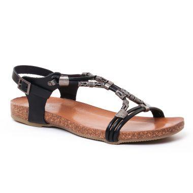 Nu Pieds Et Sandales Porronet 2217 Noir, vue principale de la chaussure femme