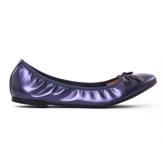 Jb Martin Oreane Ocean | ballerines bleu violet printemps