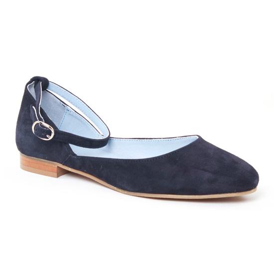 Ballerines Scarlatine 7529 Marine, vue principale de la chaussure femme
