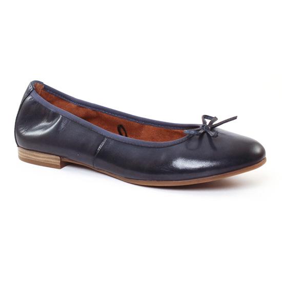 Ballerines Tamaris 22116 Denim, vue principale de la chaussure femme