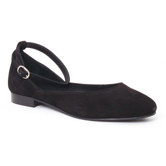 Ballerines Scarlatine 7529 Noir, vue principale de la chaussure femme