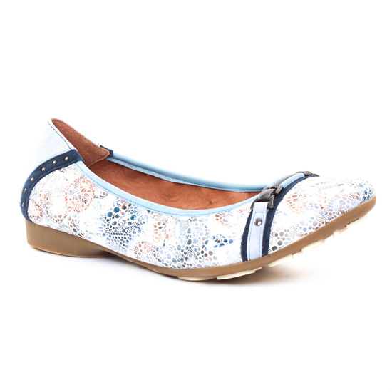 Ballerines Mamzelle Nicola Flower, vue principale de la chaussure femme