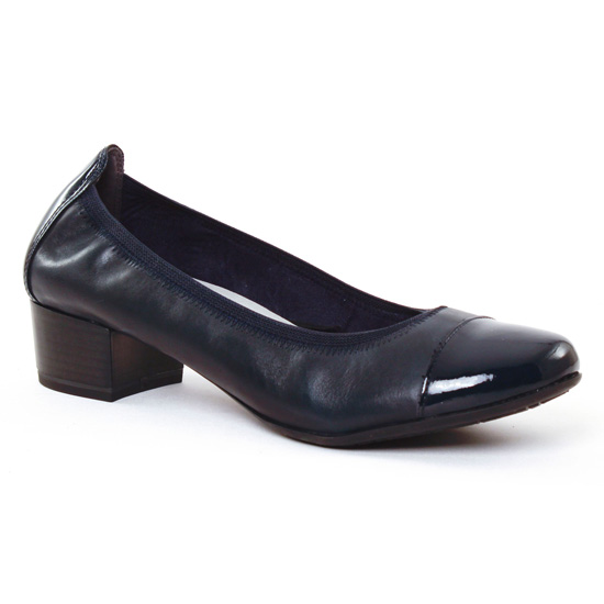 Ballerines Marco Tozzi 22307 Navy, vue principale de la chaussure femme
