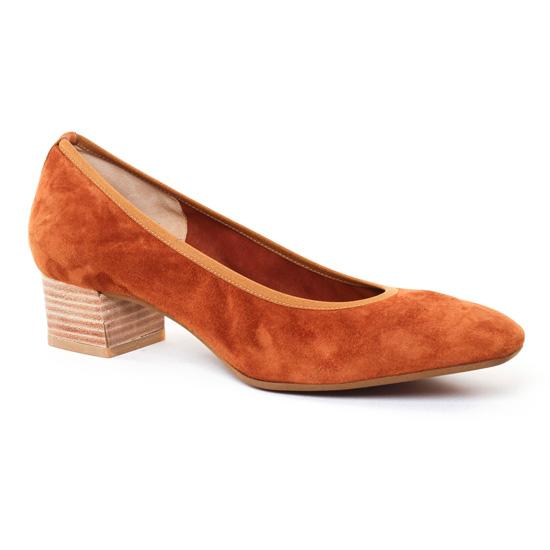 Ballerines Perlato 9692 Camel, vue principale de la chaussure femme