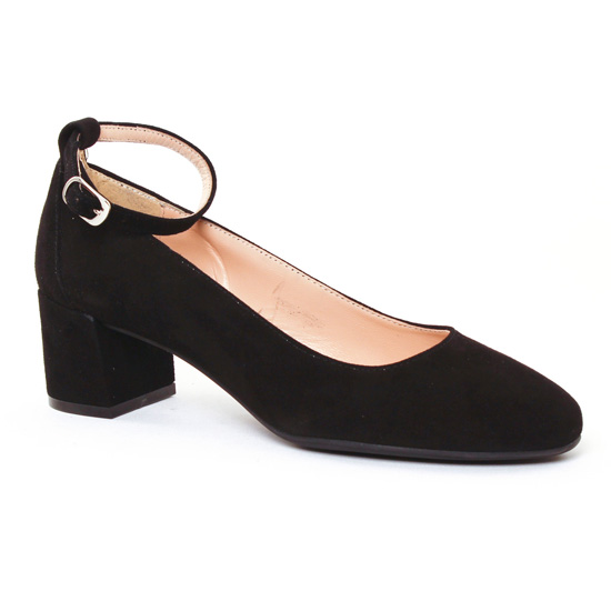 Ballerines Maria Jaen 4025 Noir, vue principale de la chaussure femme