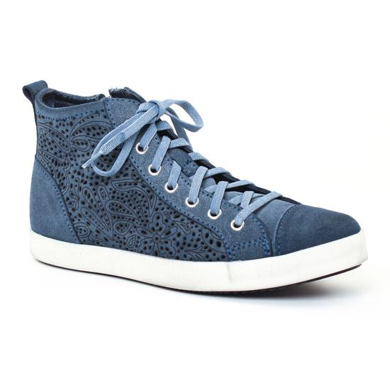 Tennis Et Baskets Mode Tamaris 25214 Denim, vue principale de la chaussure femme