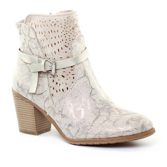Bottines Et Boots Marco Tozzi 25309 Dune Metal, vue principale de la chaussure femme