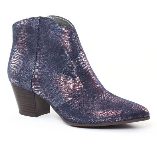 Bottines Et Boots Tamaris 25301 Navy, vue principale de la chaussure femme