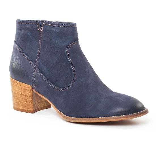 Bottines Et Boots Tamaris 25341 Navy, vue principale de la chaussure femme