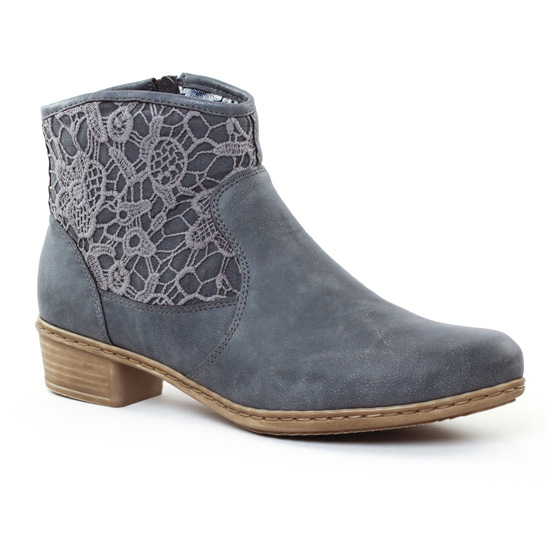 Bottines Et Boots Rieker Y0735 Jeans, vue principale de la chaussure femme