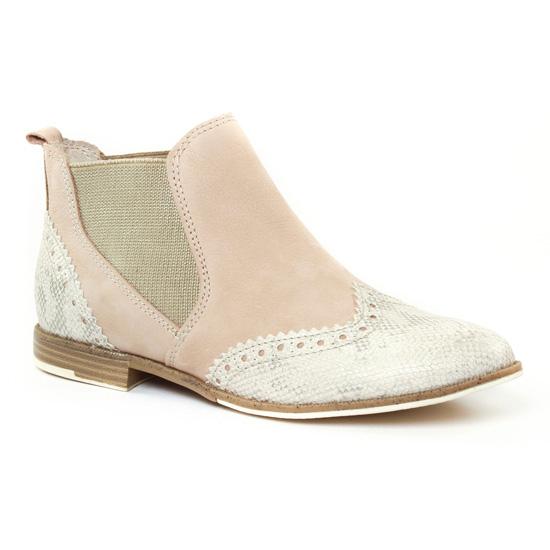Bottines Et Boots Marco Tozzi 25307 Dune, vue principale de la chaussure femme