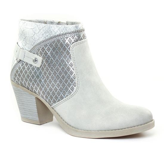 Bottines Et Boots Marco Tozzi 25325 Grey, vue principale de la chaussure femme
