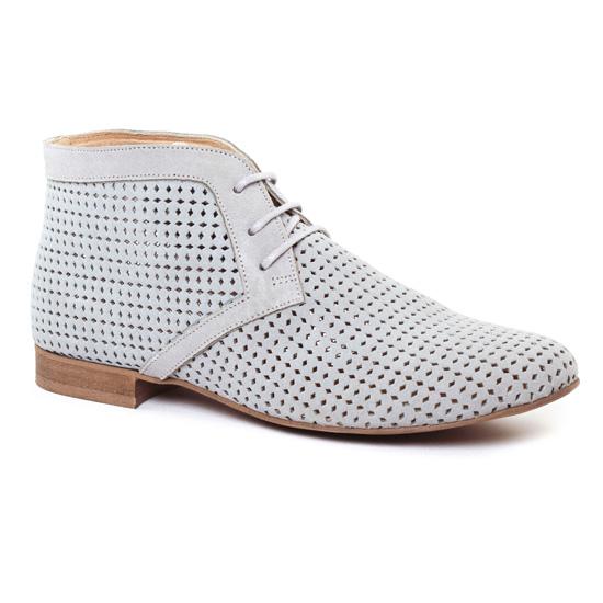 Bottines Et Boots Axell Tammy Gris, vue principale de la chaussure femme