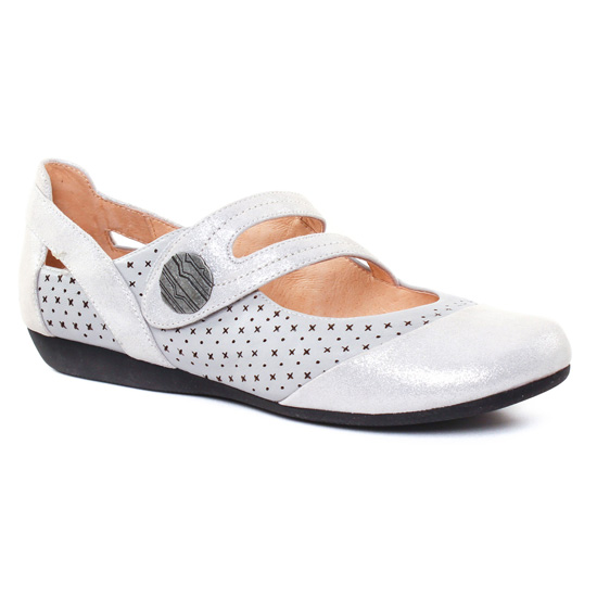 Babies Fugitive Darbo Metal Gris, vue principale de la chaussure femme