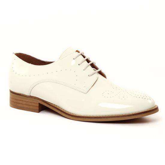 Chaussures À Lacets Scarlatine 22081 Blanc, vue principale de la chaussure femme