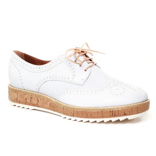 Chaussures À Lacets Tamaris 23706 Off White, vue principale de la chaussure femme