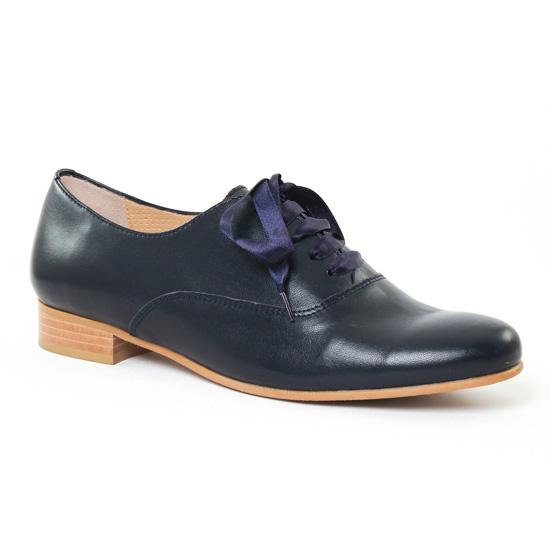 Chaussures À Lacets Pintodiblu 3703 Marine, vue principale de la chaussure femme