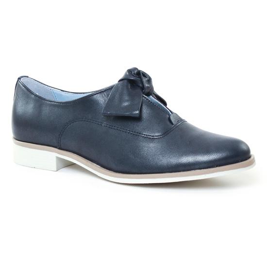 Chaussures À Lacets Scarlatine 6857 Marine, vue principale de la chaussure femme