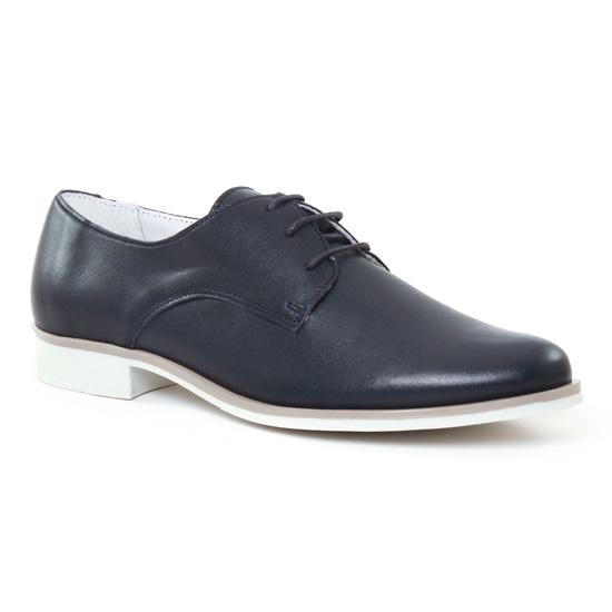 Chaussures À Lacets Scarlatine 7541 B Marine, vue principale de la chaussure femme