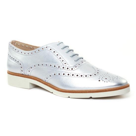 Chaussures À Lacets Jb Martin 1Falba Silver, vue principale de la chaussure femme