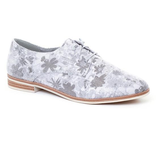 Chaussures À Lacets Tamaris 23204 Grey, vue principale de la chaussure femme