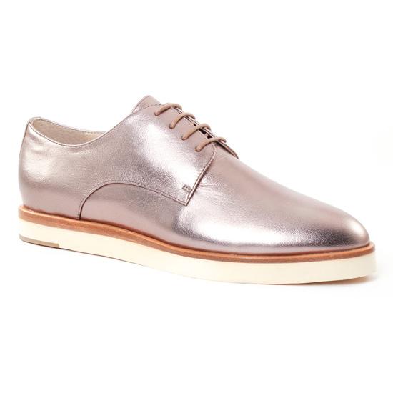 Chaussures À Lacets Jb Martin 1Dalva Stone, vue principale de la chaussure femme