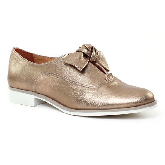 Chaussures À Lacets Scarlatine 6857 Bronze, vue principale de la chaussure femme