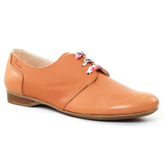 Tamaris Cannelle Cuir Chaussures à lacets Argent Printemps
