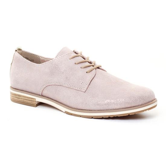 Chaussures À Lacets Marco Tozzi 23211 Dune, vue principale de la chaussure femme