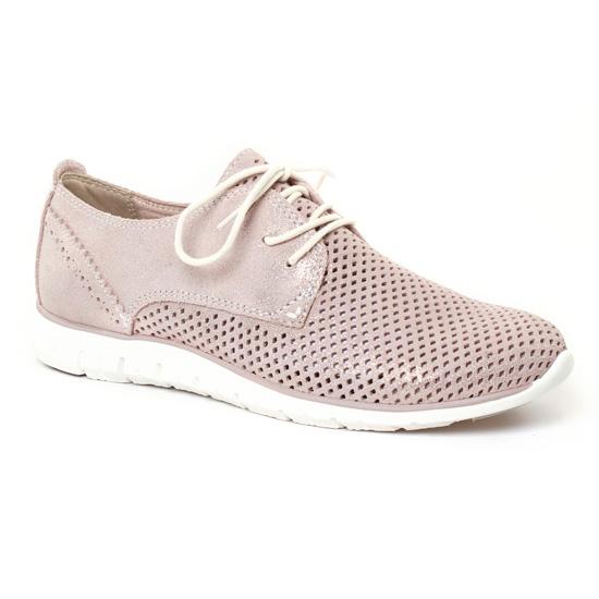 Chaussures À Lacets Marco Tozzi 23728 Dune Metal, vue principale de la chaussure femme