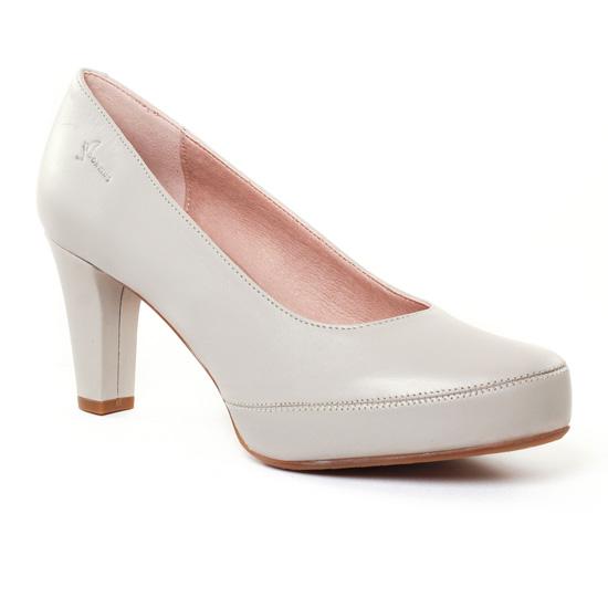 Escarpins Dorking Blesa 5794 Lin, vue principale de la chaussure femme
