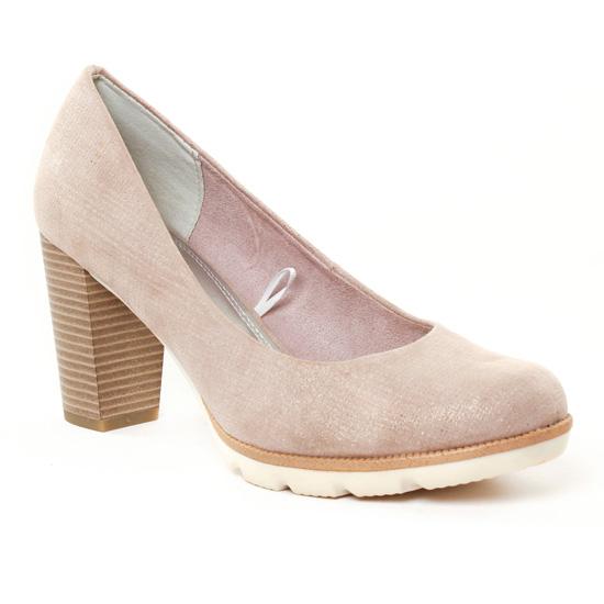 Escarpins Marco Tozzi 22413 Dune, vue principale de la chaussure femme