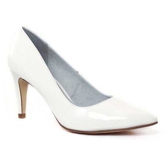 Escarpins Tamaris 22447 White, vue principale de la chaussure femme