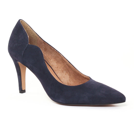 Escarpins Tamaris 22423 Navy, vue principale de la chaussure femme