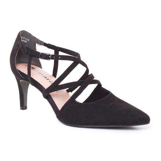 Escarpins Tamaris 24400 Black, vue principale de la chaussure femme