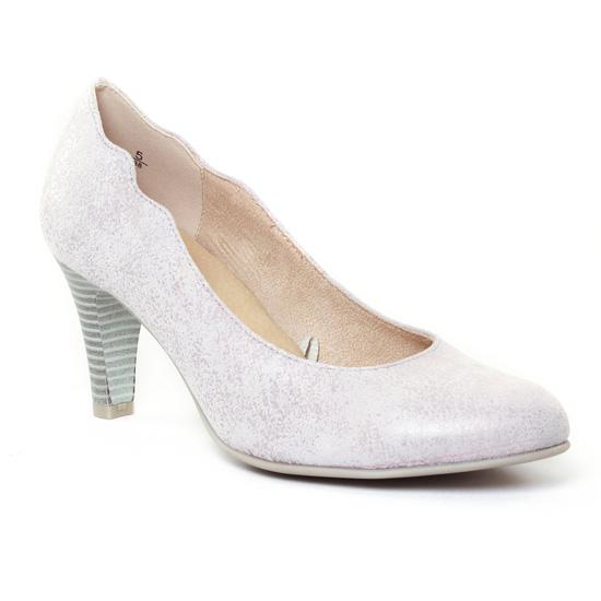 Escarpins Caprice 22406 Grey, vue principale de la chaussure femme