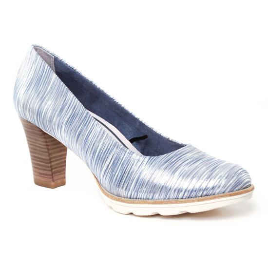 Escarpins Tamaris 22402 Silver, vue principale de la chaussure femme