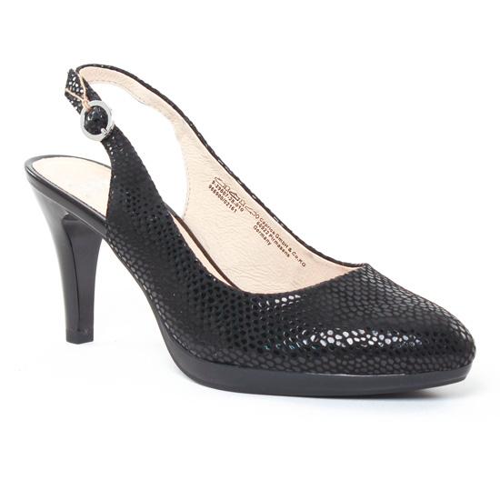 Escarpins Caprice 29607 Noir, vue principale de la chaussure femme