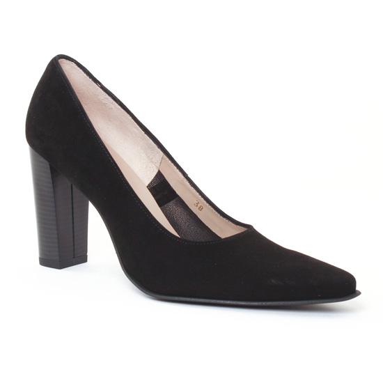 Escarpins Scarlatine Belgy Noir, vue principale de la chaussure femme