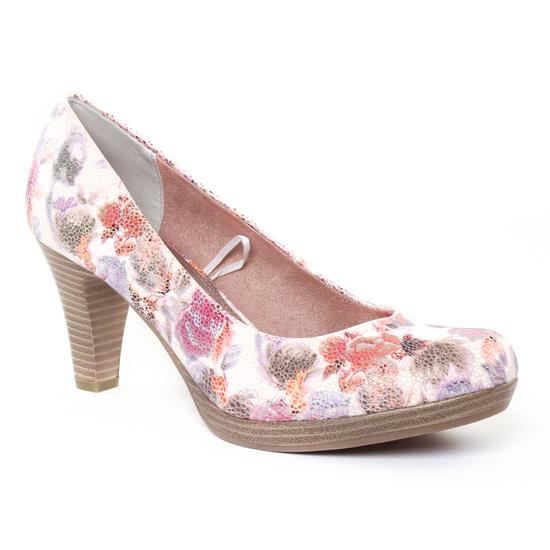 Escarpins Marco Tozzi 22436 Rose Flower, vue principale de la chaussure femme
