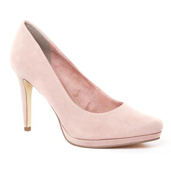 Escarpins Tamaris 22446 Rose, vue principale de la chaussure femme