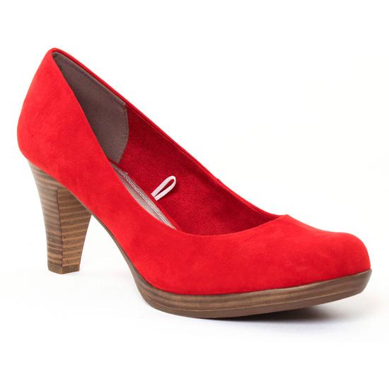 Escarpins Marco Tozzi 22411 Red, vue principale de la chaussure femme