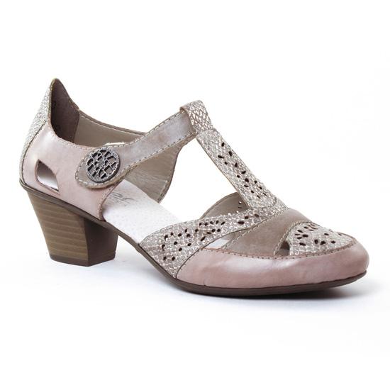 Babies Rieker 45092 Steel, vue principale de la chaussure femme
