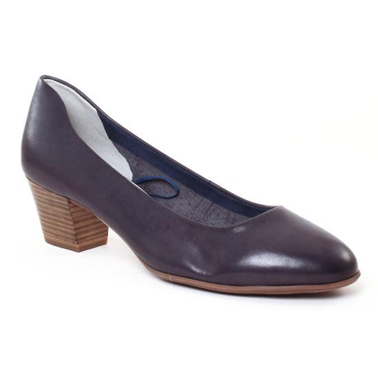 Escarpins Tamaris 22302 Navy, vue principale de la chaussure femme