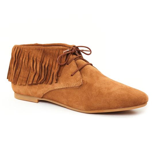 Chaussures À Lacets Scarlatine 6954 Camel, vue principale de la chaussure femme