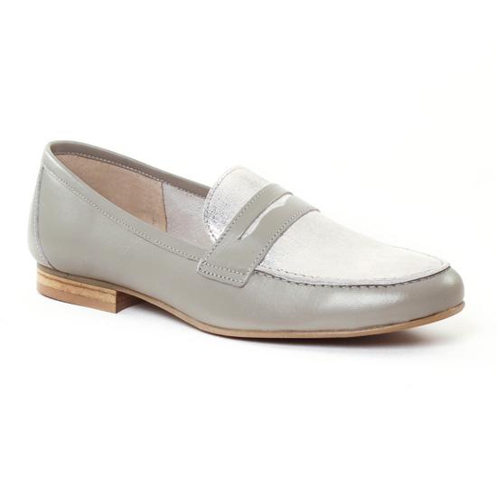 Mocassins Scarlatine 9488 Blanc, vue principale de la chaussure femme
