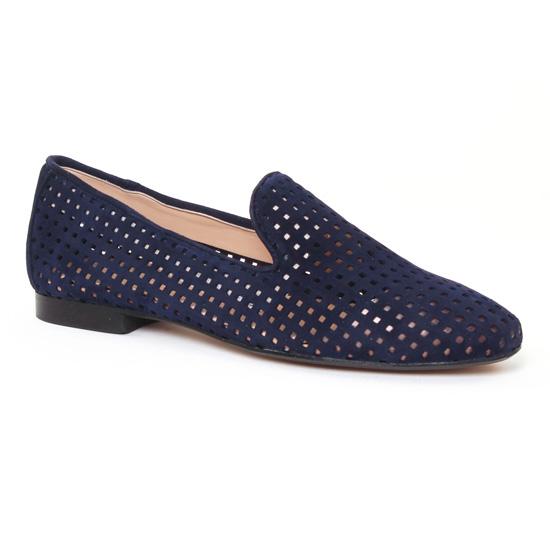 Mocassins Maria Jaen 4071 Marine, vue principale de la chaussure femme