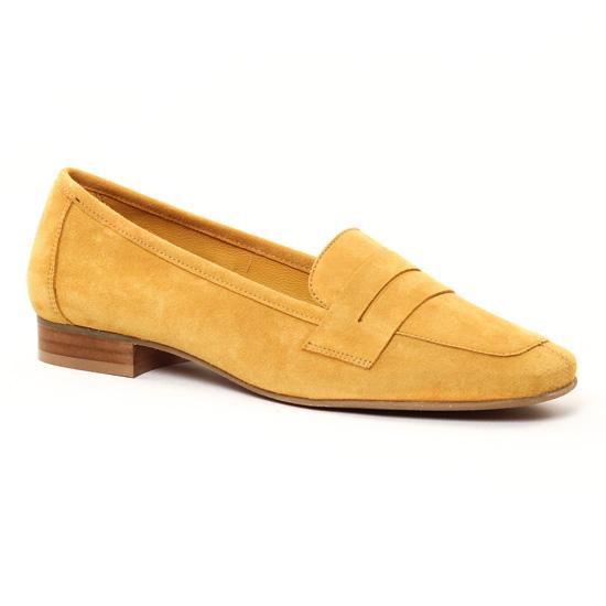 Mocassins Scarlatine 11029 Gold, vue principale de la chaussure femme